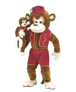 118a Affen Kostüm Angebot Maskottchen