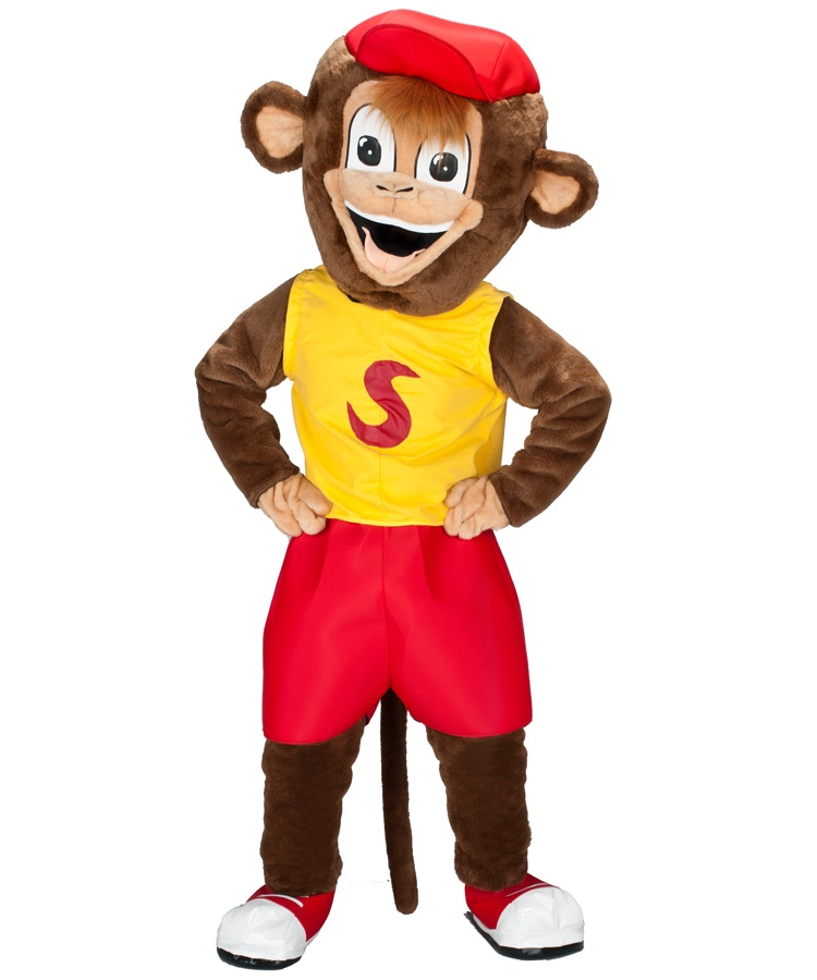 204a Affen Kostüme Karneval Angebote Maskottchen