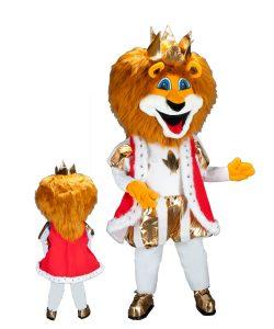 236b Löwe Kostüm Karneval Angebot Maskottchen
