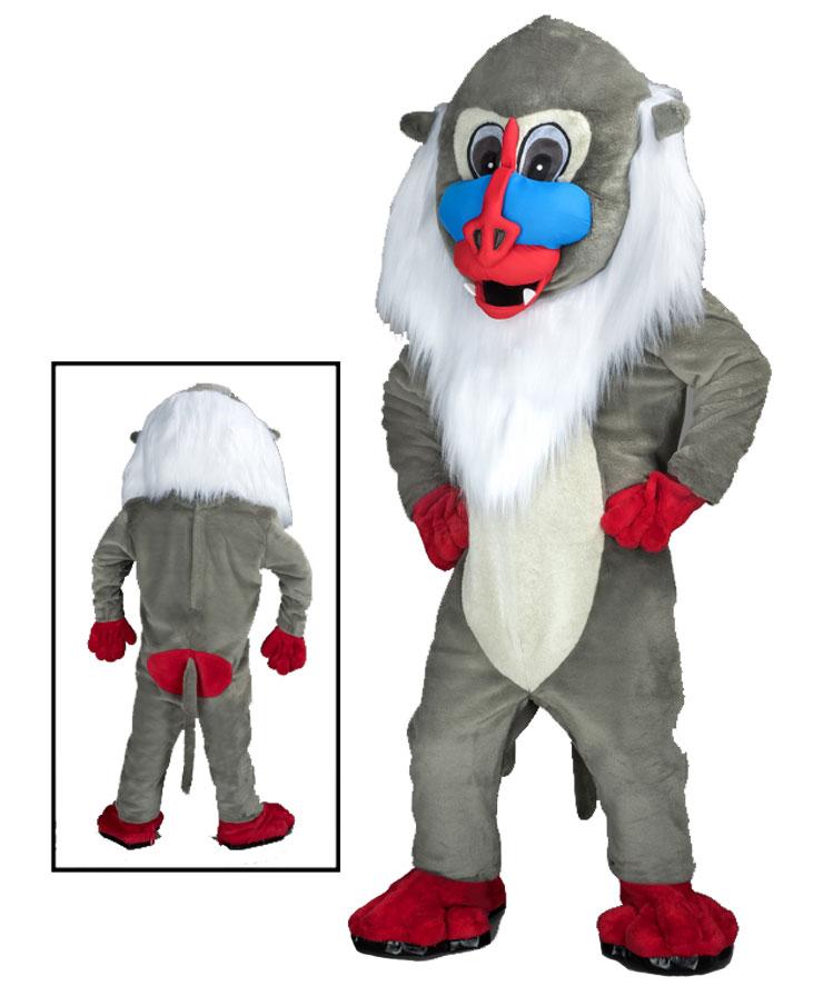 248a Affen Kostüme Karneval Angebote Maskottchen