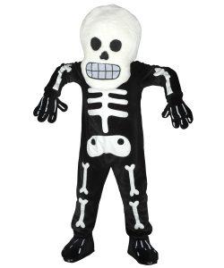 261b-Skelett-Kostüm-Maskottchen