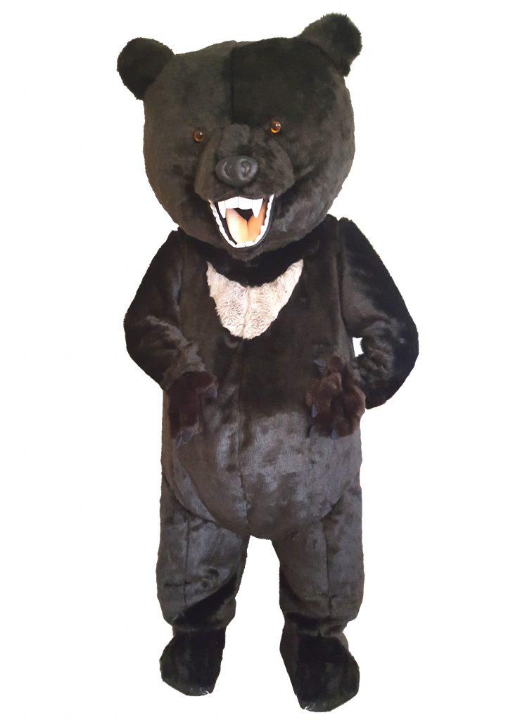 262b Bär Kostüm Karneval Angebote Maskottchen günstig