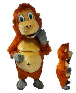 267c Affen Kostüme Karneval Angebote Maskottchen