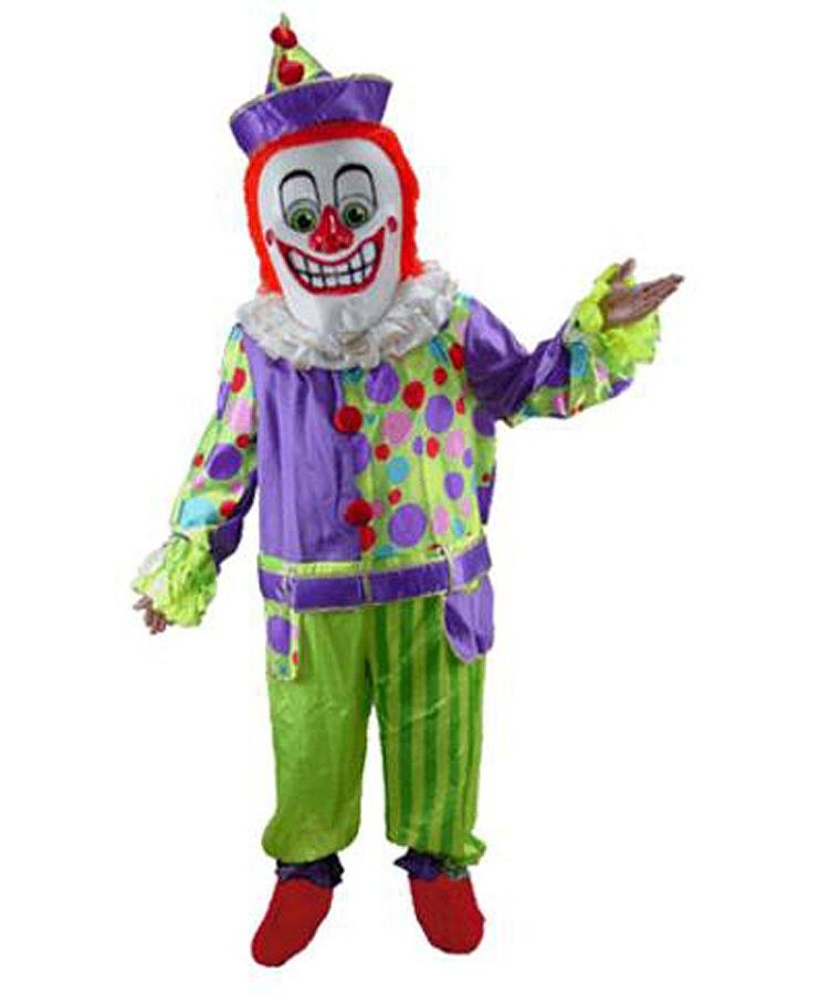 Clown-Maskottchen-Kostüme-halloween