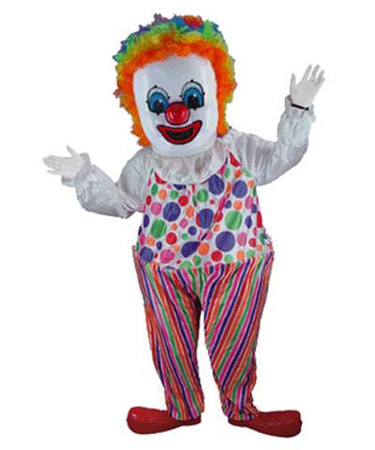 Clown-Maskottchen-Kostüm-halloween