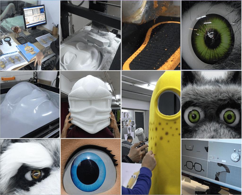 Hersteller-Kostüme-Maskottchen