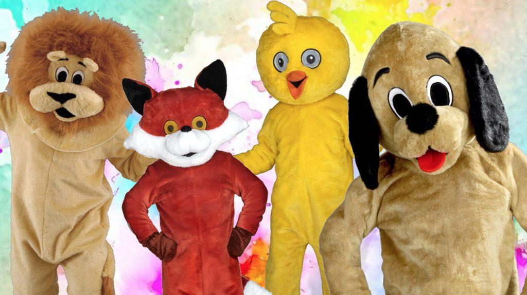 Kostüm-günstig-karneval-maskottchen