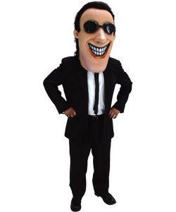 Men in Black Kostüm Angebot Maskottchen