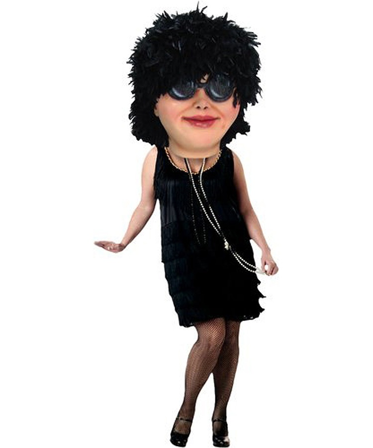 Tina Kostüm Angebot Maskottchen