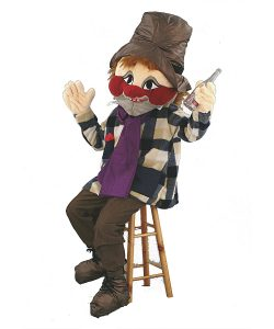 103b Mann Kostüm Karneval Angebot Maskottchen günstige