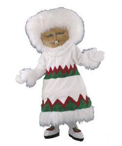 115b Eskimo Kostüm Karneval Angebot Maskottchen günstige