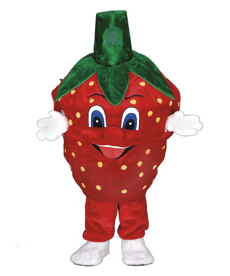 153c Erdbeeren Kostüm Karneval Angebot Maskottchen günstige