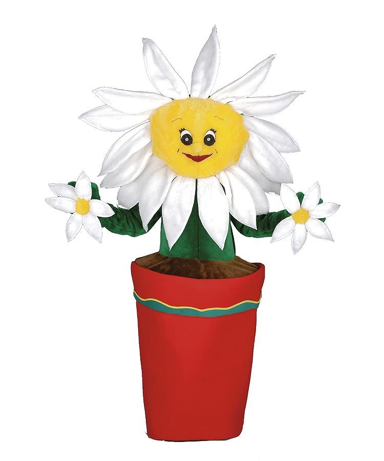 154c Blume Kostüm Karneval Angebot Maskottchen günstige