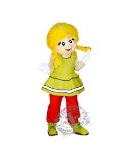 181a Heidi Kostüm Karneval Angebot Maskottchen günstige