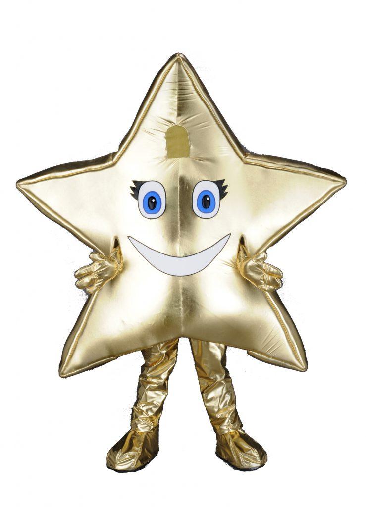 221h Stern Kostüm Karneval Angebot Maskottchen günstige