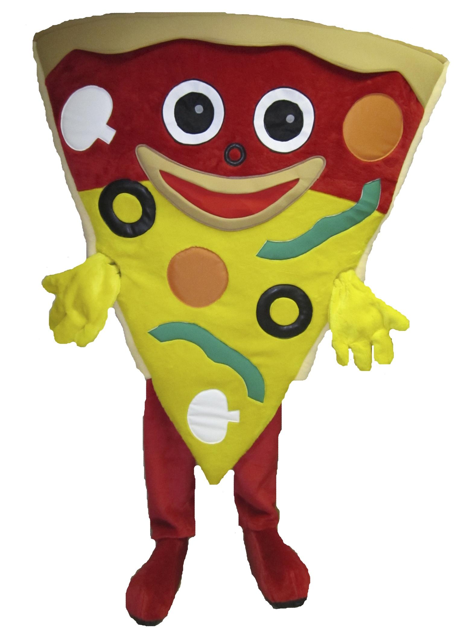 Pizza 231b Kostüm Karneval Angebote Maskottchen
