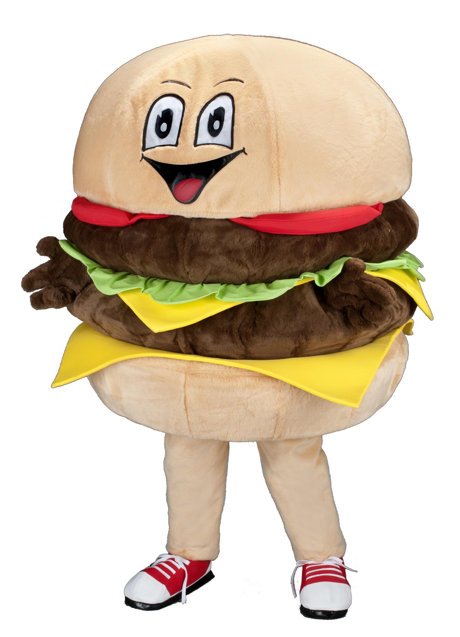 Burger 234s Kostüm Karneval Angebote Maskottchen