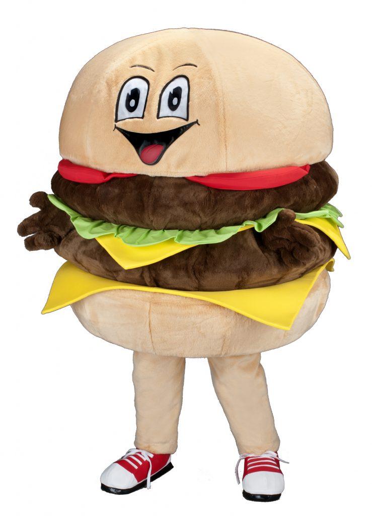 234s Burger Kostüm Karneval Angebot Maskottchen günstige