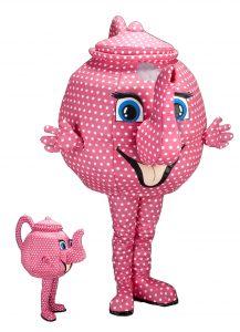 235s Teekanne Kostüm Karneval Angebot Maskottchen günstige