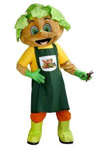 241b Salat Kostüm Karneval Angebot Maskottchen günstige