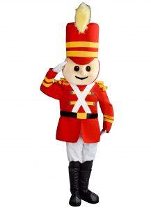 242a Soldat Kostüm Karneval Angebot Maskottchen günstige