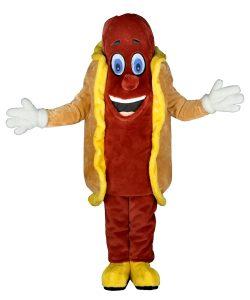 259c Hot dog Wurst Kostüm Karneval Angebot Maskottchen günstige