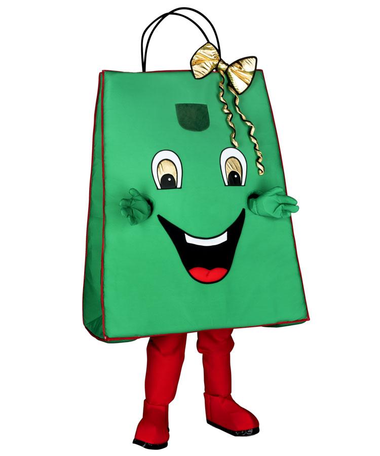 266a Tasche Kostüm Karneval Angebot Maskottchen günstige
