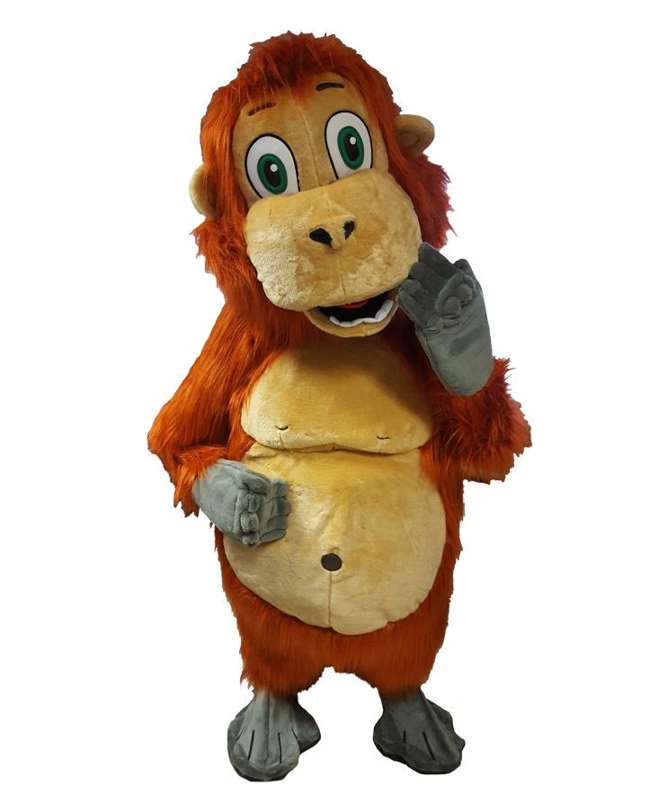 Affen Orang Utan 267c Kostüm Karneval Angebote Maskottchen