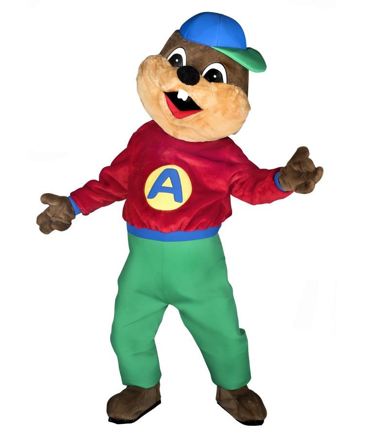 Eichhörnchen 35a Kostüm Karneval Angebote Maskottchen günstig