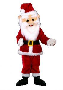 89a Weihnachtsmann Kostüm Karneval Angebot Maskottchen günstige