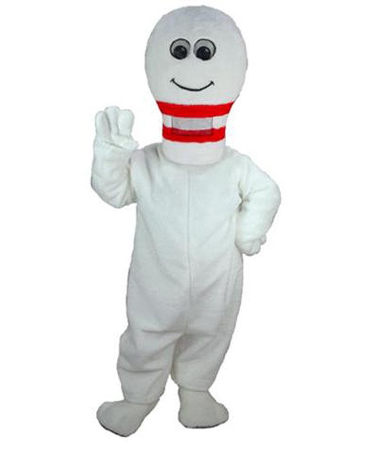 Bowling Mann Kostüm Karneval Angebot Maskottchen günstige