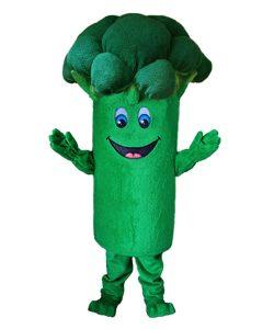 Broccoli Kostüm Karneval Angebot Maskottchen günstige
