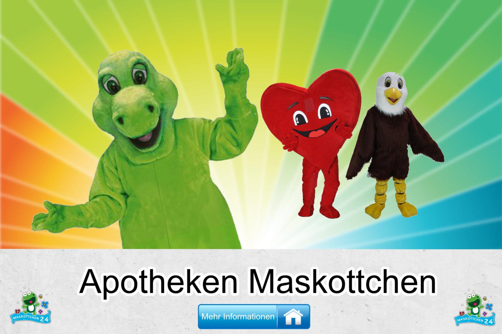 Kostüm Maskottchen Günstig-Kaufen Produktion Apotheken