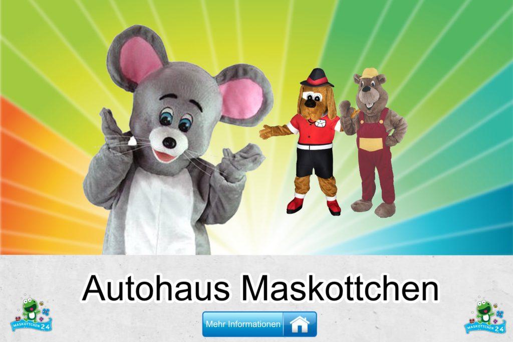 Kostüm Maskottchen Günstig-Kaufen Produktion Autohaus