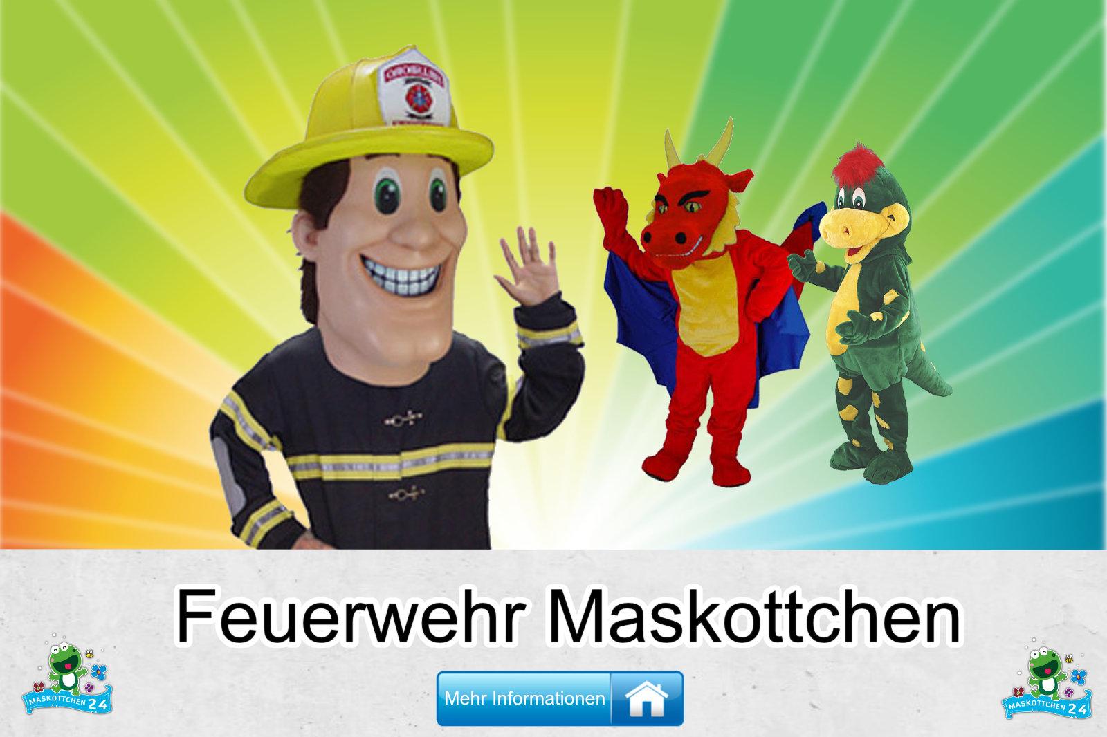 Kostüm Maskottchen Günstig-Kaufen Produktion Feuerwehr