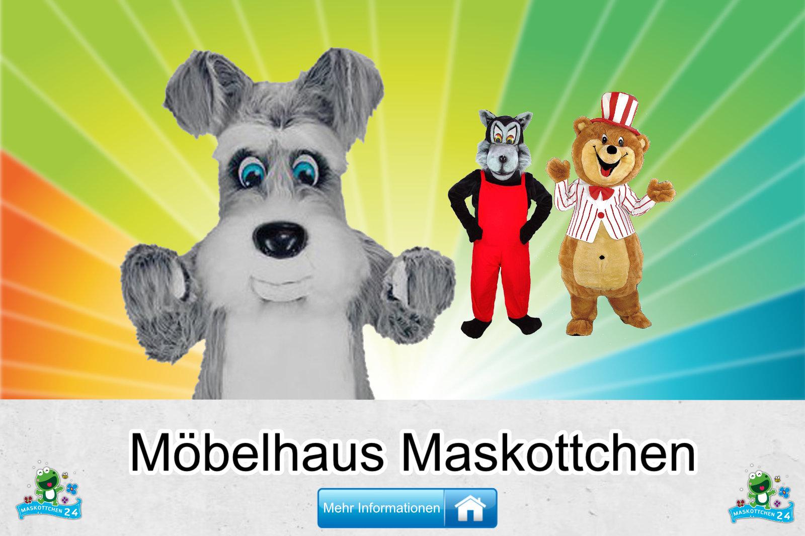 Kostüm Maskottchen Günstig-Kaufen Produktion Möbelhaus