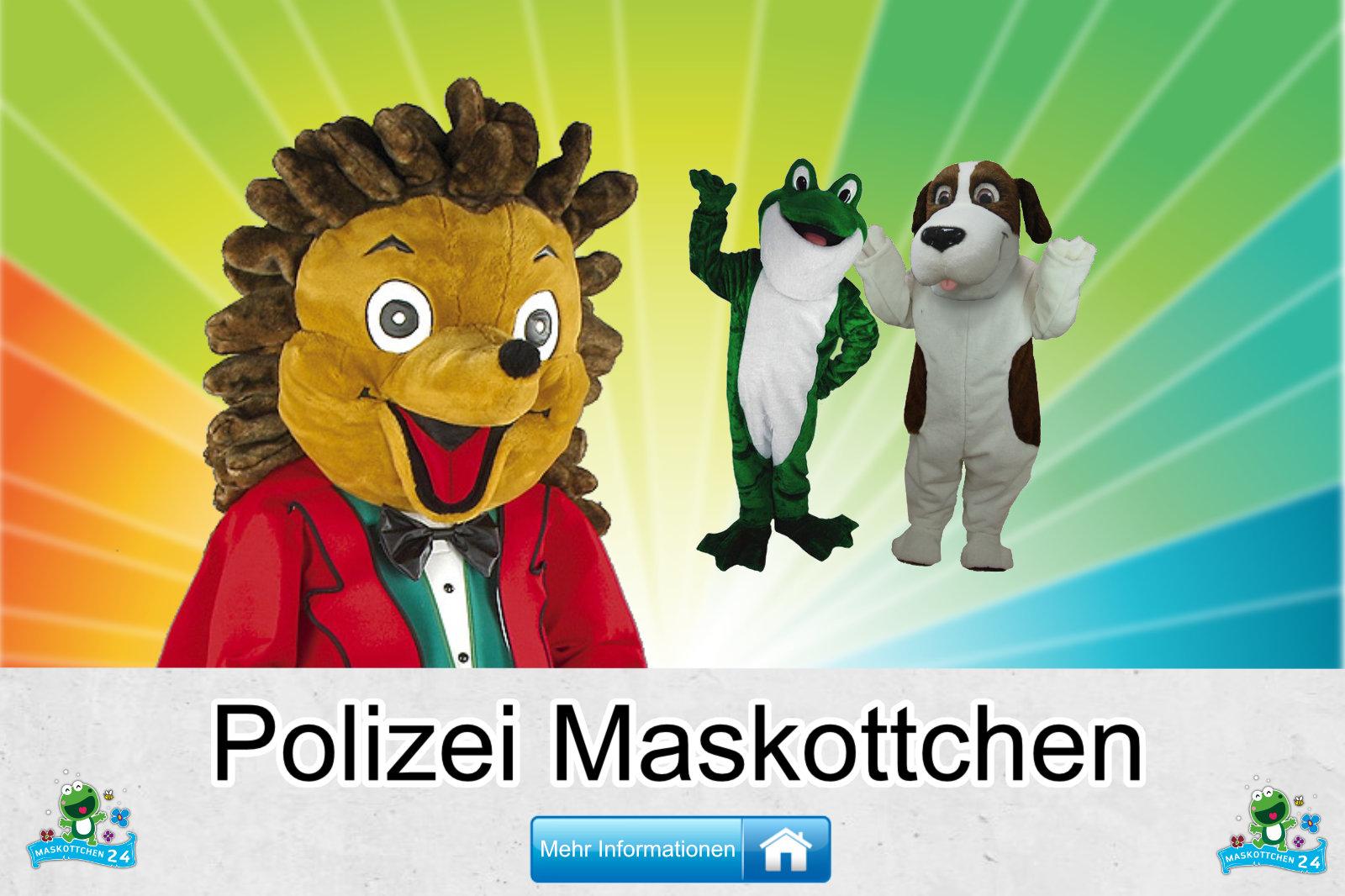 Kostüm Maskottchen Günstig-Kaufen Produktion Polizei