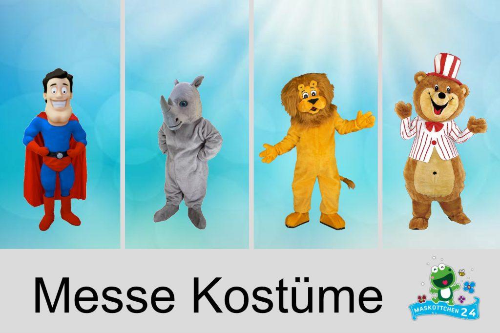 Kostüm Produktion Maskottchen Shop Messe