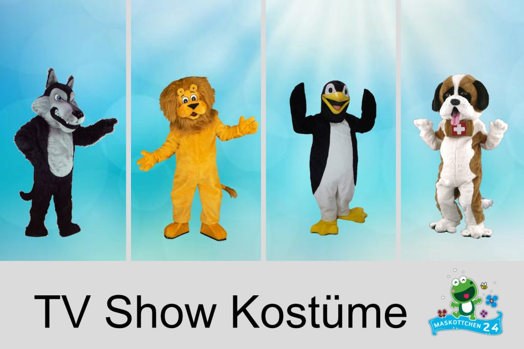 Kostüm Produktion Maskottchen Shop TV Show