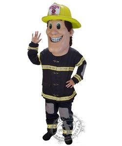 Feuerwehrmann Kostüm Karneval Angebot Maskottchen günstige