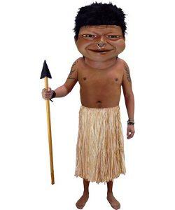 Insel Einwohner Kostüm Karneval Angebot Maskottchen günstige