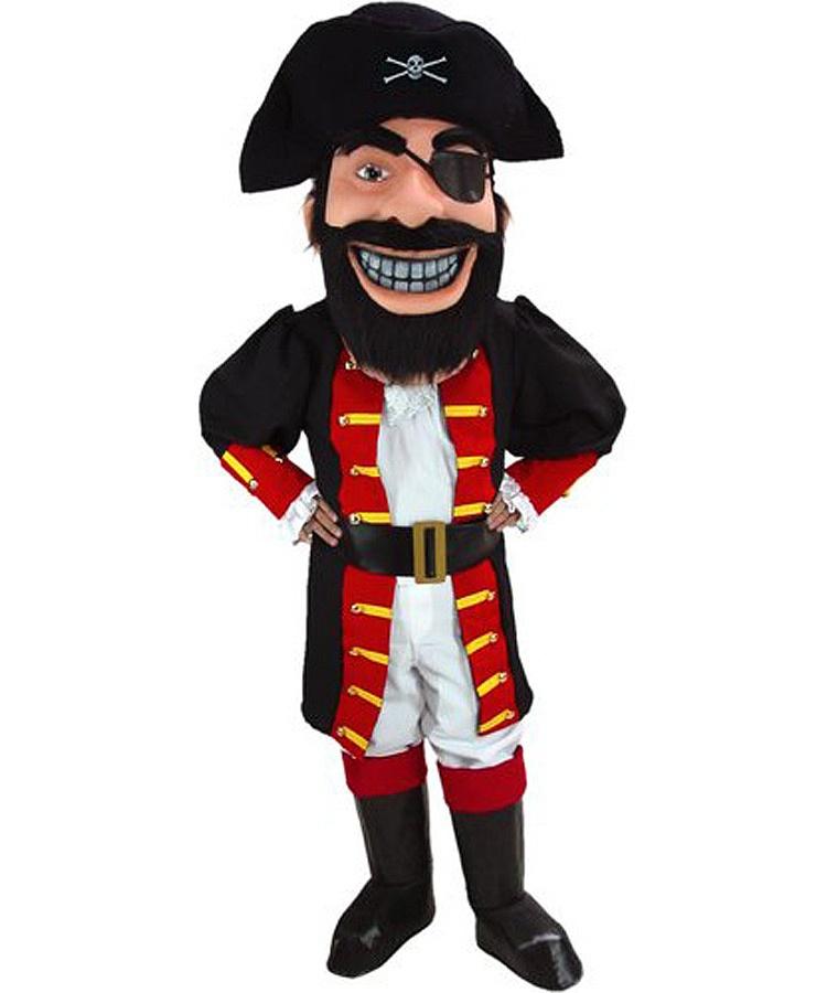 Pirat Kostüm Karneval Angebot Maskottchen günstige