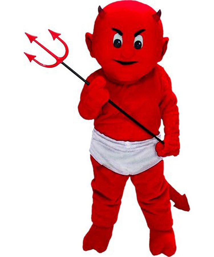 Teufel Kostüm Karneval Angebot Maskottchen günstige