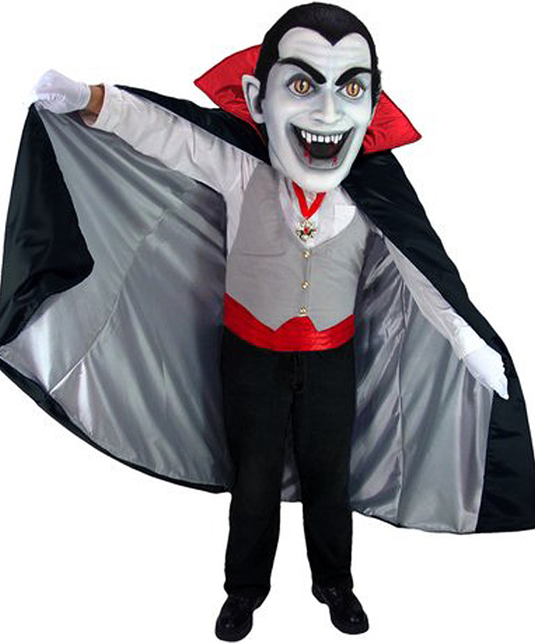 Vampir Kostüm Karneval Angebot Maskottchen günstige