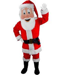 Weihnachtsmann Kostüm Karneval Angebot Maskottchen günstige-Maskottchen-Mascot-Kostuem-Lauffigur-Tierfigur