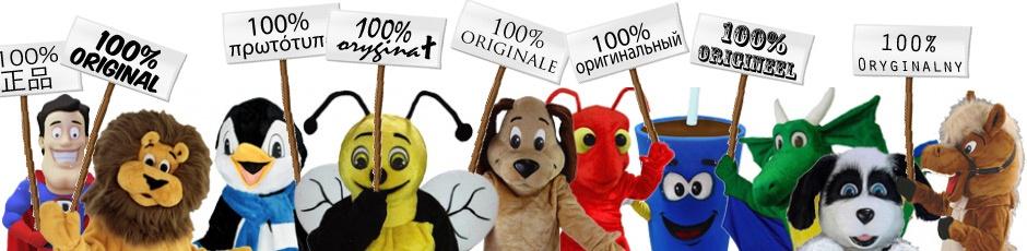 Original Kostüme kaufen Maskottchen