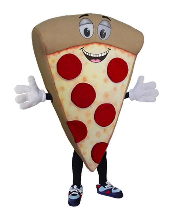 Pizza Kostüm Karneval Angebot Maskottchen günstige