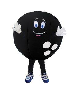 Bowling Kugel Kostüm Karneval Angebot Maskottchen günstige